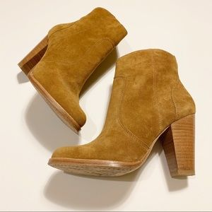 Joie Brown Suede Ankle Boots